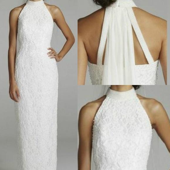 St. Tropez Dresses | St Tropez White Fully Beaded Wedding Gown 18 ...